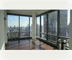 Breathtaking! 3 BR 3 BA Terrace.Central Air  W/D High Floor Upper West Side Minutes walk to Columbus Circle Lincoln Center Central Park